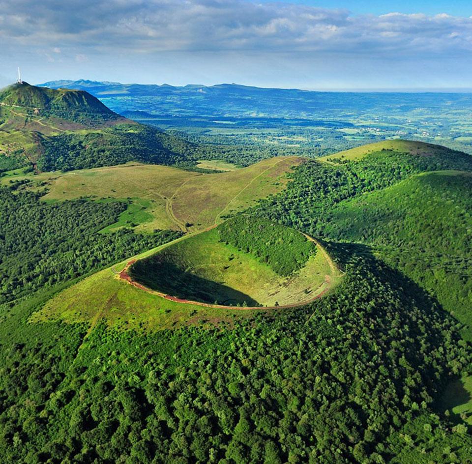 Le Pariou, volcan le plus visité